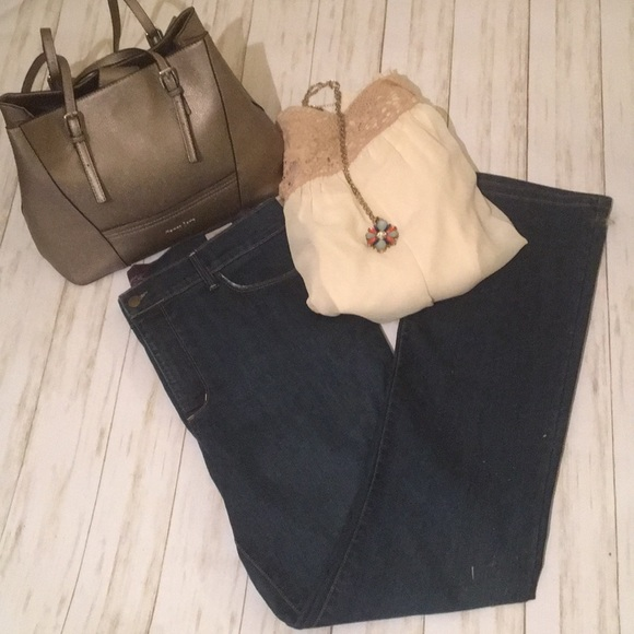 NYDJ Denim - Not Your Daughter's Jeans Dark Flare. Size 16.